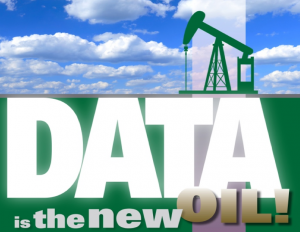 Figure 1 Data is the new Oil Retrieved from http://www.futuristgerd.com/2013/08/14/great-piece-on-why-data-is-indeed-the-new-oil-linkedin-connects-big-data-human-resources-via-wapo/