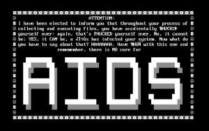 AIDS Trojan - Taken from https://www.knowbe4.com/aids-trojan